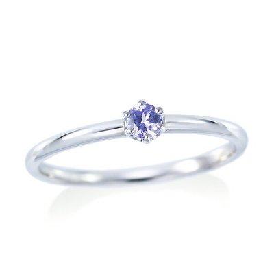 *misaki*の日本Jewelry純代購【日本網路飾品】「希有寶石」「天然灰簾石」 10K白K金戒指【東京 本店】