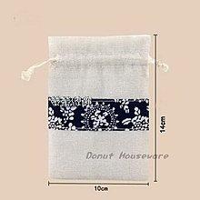 【螢螢傢飾】10x14 束口袋,帆布袋,護身符袋,棉麻布袋, 拉繩袋  萬用收納袋, 手工皂包裝袋 質感麻灰。