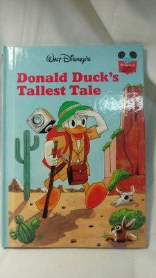 🌈🌈迪士尼全新精裝全彩全英故事繪本DONALD DUCK'S TALLEST TALE1❇️