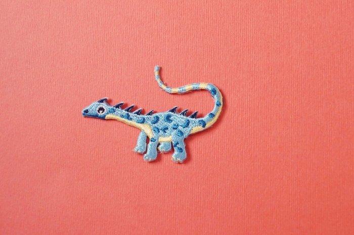 藍使者自黏繡布貼-恐龍復活系列(新上架)