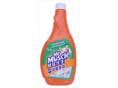 【B2百貨】 威猛先生浴室清潔劑重裝瓶-除垢(500g) 4710314475130 【藍鳥百貨有限公司】