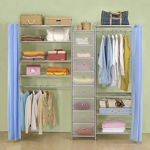 【中華批發網DIY家具】D-62C-02-W4型60+pp+W4型90衣櫥置物櫃-(前罩)不織布