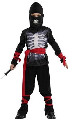 乂世界派對乂 萬聖節服裝,萬聖節裝扮,英雄服裝,骷髏裝扮/忍者服裝/兒童變裝服/骷髏忍者
