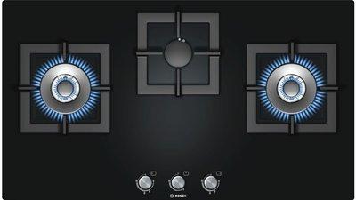 【喬伊絲廚電美學】德國BOSCH-三口瓦斯爐PPW916B2TT☆鑄鐵爐架☆自動偵測熄火安全裝置
