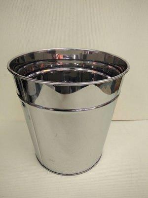 430不鏽鋼垃圾桶/紙筒(小)20.5cm*21.2cm*16.4cm