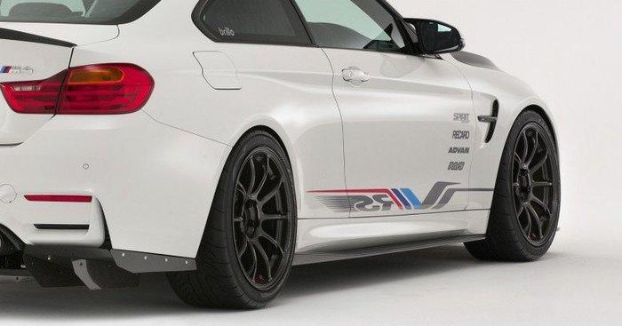 【樂駒】 VRS 改裝 外觀 套件 側裙 BMW F82 F83 M4 碳纖維 carbon 輕量化
