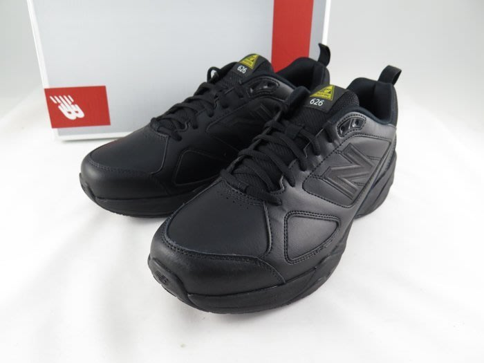 運動GO~ New Balance 防滑 防油 運動鞋 MID626K2 2E 寬楦 止滑 黑 素面