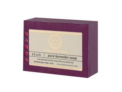 岡山戀香水~印度 Khadi 草本薰衣草手工精油香皂125g~優惠價:55元