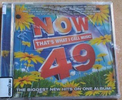 正版CD《Now That s What I Call Music 49》 全新未拆