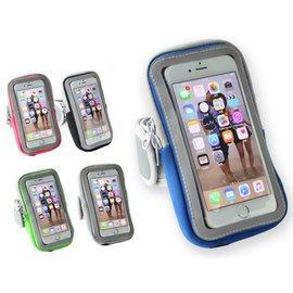 防潑水大容量5.5寸手機通用臂包臂套(螢幕可觸控) 防潑水 潛水布料 男女通用 iphone7/7+、iphone6/6