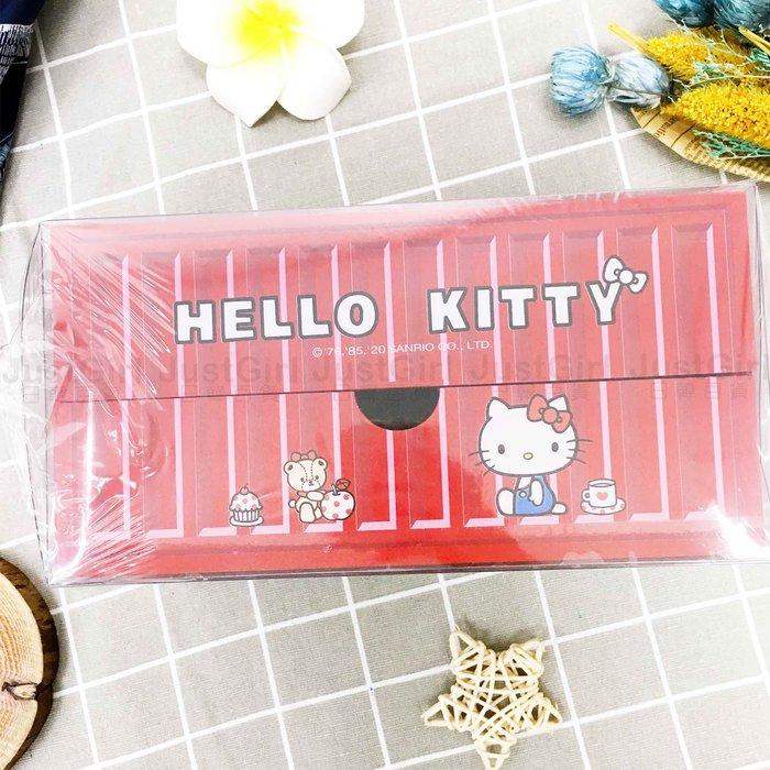 三格單抽貨櫃盒 三麗鷗 Hello Kitty 收納盒 居家 收納 正版授權
