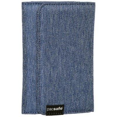 【EASY_BUTY】{現貨}Pacsafe LX100 RFID (藍色) 皮夾 防盜信用卡 錢包 限時$888