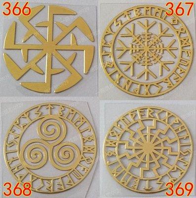手機貼紙 金屬貼三螺旋 能量圖案 能量符號奧罡奧根能量金字塔材料