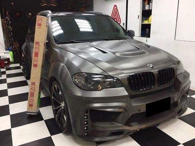 BMW X5 PRIOR DESIGN 寬體式樣 x1 x3 x4 x6 全車使用 HEXIS髮絲灰3m車膜