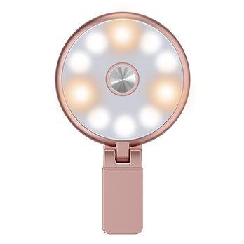 直播補光燈美顏主播手機自拍 神器瘦臉嫩膚燈光高清拍照打光 環形小型光圈