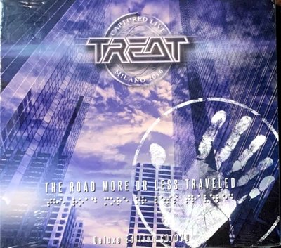 【搖滾帝國】瑞典搖滾(Rock)樂團 TREAT / The Road More Or Less Traveled CD+DVD