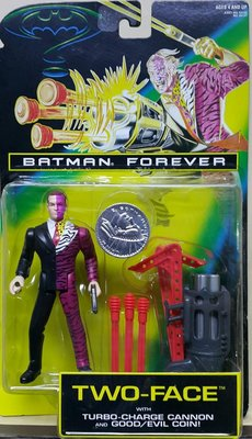 全新 KENNER BATMAN FOREVER 蝙蝠俠 TWO-FACE 雙面人