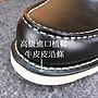 純黑 (8106版型) 875短筒 進口油蠟皮 白底 固特異縫製 純橡膠底 牛皮厚底靴 工作靴 美式牛皮靴