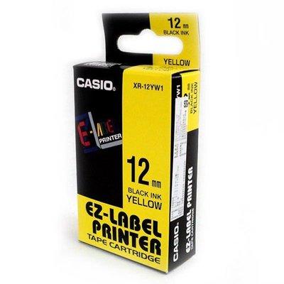 CASIO原廠標籤帶 12mm色帶  適用: KL-170 / KL-170plus / KL-G2TC