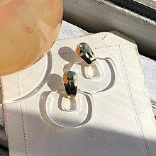 FUDGE法橘 / 正韓 透明系列法式風格壓克力耳環/LE20601