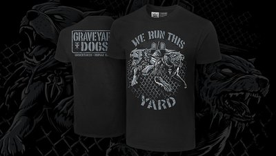 [美國瘋潮]正版WWE Undertaker & Roman Reigns We Run This Yard Tee衣服