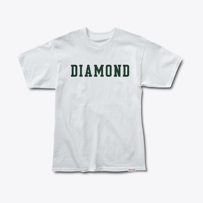 [WESTYLE] Diamond Supply Co Diamond Block Tee 白 短T