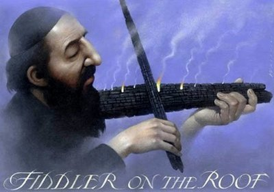 屋頂上的提琴手-Fiddler on the Roof(2005)波蘭版電影海報