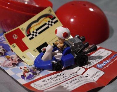 超級瑪麗歐賽車 Gacha TOMY Mario Kart Wii Pull Back Racers - Toad