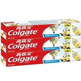 小小兵兒童牙膏(凝露) 涼涼薄荷口味 40gX3入 高露潔 4710168719916
