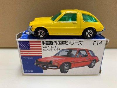 [現貨]Tomica 多美 藍盒 日製 F14 AMC