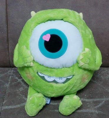 【一手動漫】日版 怪獸電力公司 大眼仔 HJ 愛心 心型大眼布偶 童年Ver 約35cm