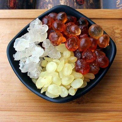 天然雪燕100克,雙莢皂角米50克,野生桃膠100克,加一罐桂花醬280元