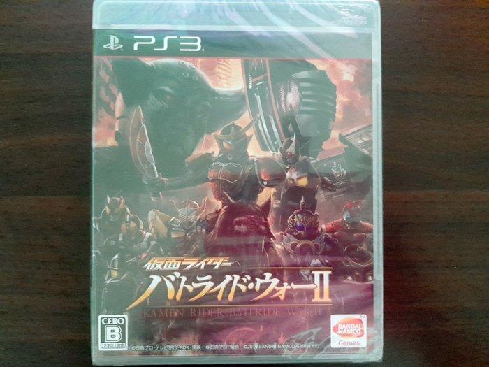 PS3 假面騎士:鬪騎大戰 II 純日版 全新品