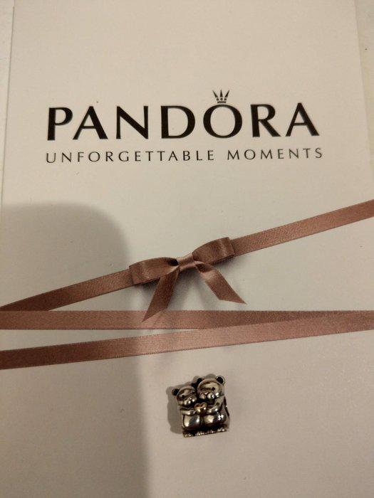二手Pandora潘朵拉擁抱熊串飾