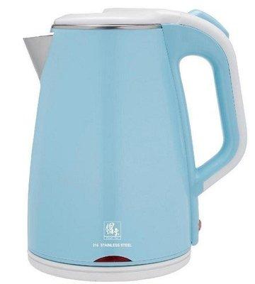 ╭*早安101 *╯【鍋寶】 316材質內膽雙層防燙保溫1.8L快煮壺/電茶壼 KT-90182↘