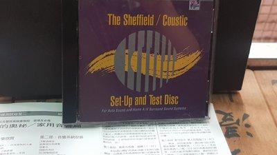 美國版Sheffield Lab-Set-up and test disc-美版