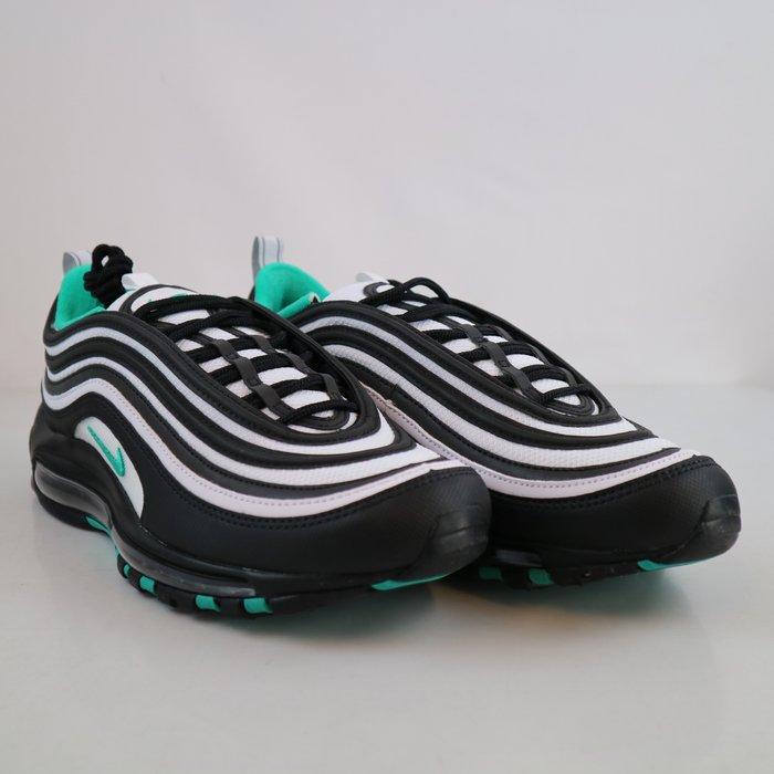 玉米潮流本舖 NIKE AirMax 97 921826-013 黑白綠色 反光 運動 氣墊 慢跑鞋