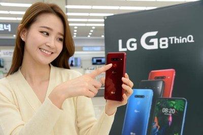 熱賣點 LG旗艦 G8 thin Q 6+128GB 藍黑 紅 功能超越 V40 旺角