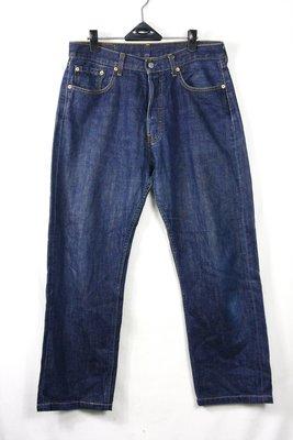 【古物箱~霹靂膠囊】levi's 紅標 509 自然色落 丹寧 牛仔褲( 菲律製 二手真品 古著 vintage)