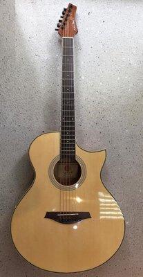 深水埗地舖門市 CALVIN SANG CS-35H 高質 CALVIN SANG木結他 吉他 配件SET  GUITAR 木結他 木吉他