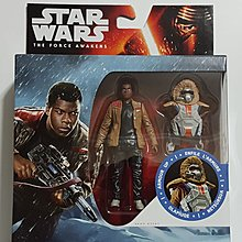 """星球大戰 Star Wars The Force Awakens Finn(Starkiller Base)-3.75"""" Figure-Hasbro 出品."""