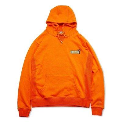 Cover Taiwan 官方直營 GRAF 領頭羊 巴洛克 美式 嘻哈 帽Tee 帽T 連帽衛衣 長袖 橘色 (預購)