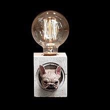 【曙muse】著色法鬥水泥桌燈 客製化 質感 送禮 交換禮物 居家小物 室內擺飾 動物造型 可愛寵物 環保水泥