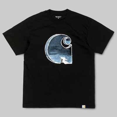 【Shopa】現貨 特價 Carhartt WIP 2018 秋冬 way through 水彩 大 LOGO T恤