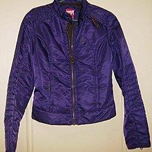 專櫃正品miss sixty全新紫色騎士風格夾克外套