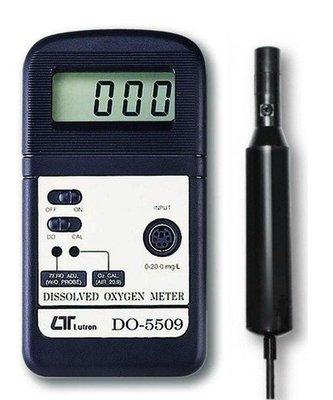 TECPEL 泰菱》Lutron 路昌 DO 5509 溶氧計 現貨供應 實體店面 水中之氧氣濃度 DO-5509
