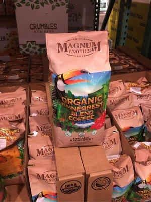 好市多代購~MAGNUM ORGANIC COFFEE BEAN熱帶雨林有機咖啡豆2磅/907公克