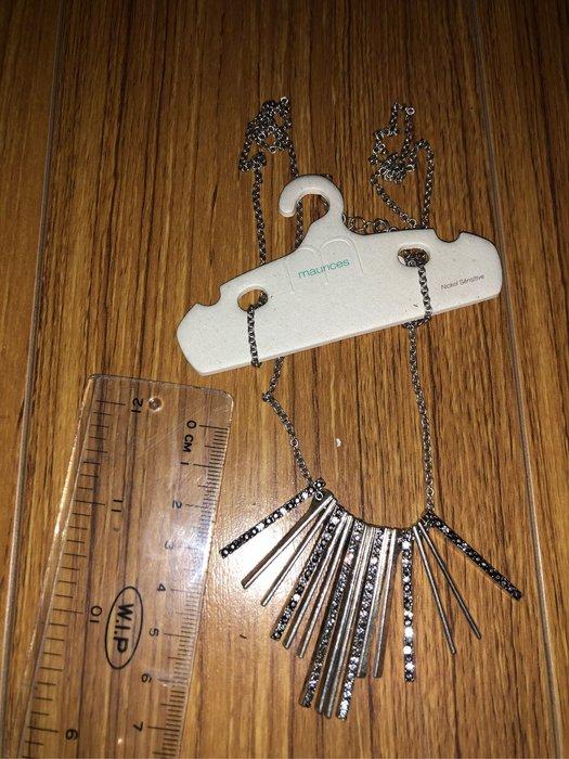 出清--新款上架美國大牌長款水晶秀氣長項鍊