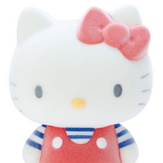 Hello Kitty 全身造型植絨存錢筒《紅白》擺飾.撲滿.儲金筒