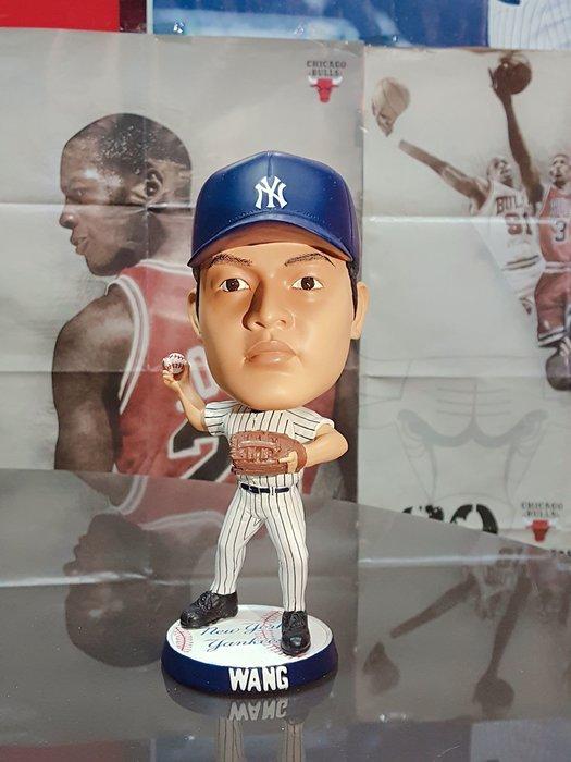 《金塊》MLB洋基隊 王建民 CHIEN-MING WANG 搖頭公仔  FOREVER 大頭娃娃 Big Heads 收藏